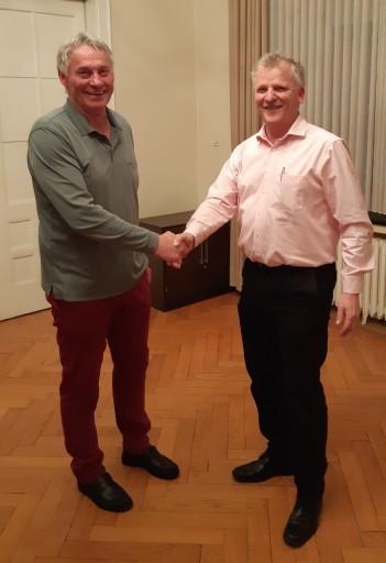 Franz Krekeler und Stefan Christ