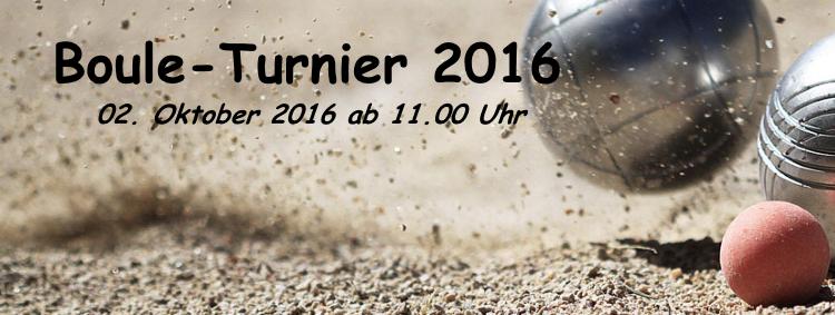 Boule-Turnier 2016 am 02. Oktober