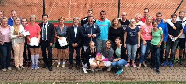5 Stadtmeistertitel für den TC Solvay